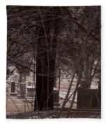 Dead Of Winter Fleece Blanket