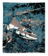 Dead Salmon 3 Fleece Blanket