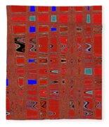 Dead Tree Abstract #4 Fleece Blanket