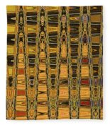Dead Tree Abstract Fleece Blanket