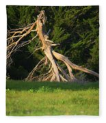 Dead Tree II Fleece Blanket