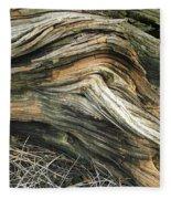 Dead Tree Textures Fleece Blanket