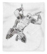 Deadpool Fleece Blanket