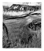Deadwood On Cherry Creek Trail 2 Fleece Blanket