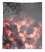 Death Blooms Fleece Blanket