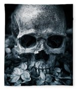 Death Comes To Us All Fleece Blanket