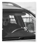 Death Driver Fleece Blanket