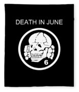 Death In June Fleece Blanket