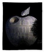 Death Star Apple Fleece Blanket