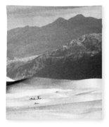 Death Valley 1977 Fleece Blanket
