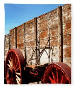 Death Valley Borax Wagons Fleece Blanket