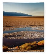 Death Valley California Fleece Blanket