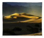 Death Valley California Symphony Of Light 4 Fleece Blanket