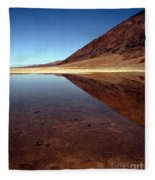 Death Valley Lake Fleece Blanket