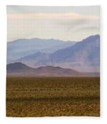 Death Valley Range Fleece Blanket