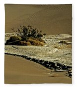 Death Valley Salt Fleece Blanket