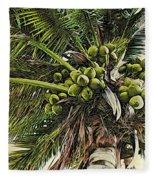 Debbie's Coconuts Fleece Blanket