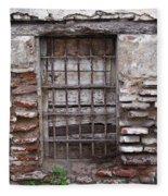 Decaying Wall And Window Antigua Guatemala 2 Fleece Blanket