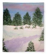 December Afternoon Fleece Blanket