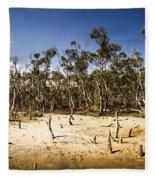 Deception Bay Conservation Park Fleece Blanket