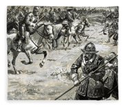 Decisive Battles  Where King Charles Lost His Crown Fleece Blanket