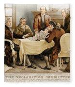 Declaration Committee 1776 Fleece Blanket