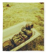 Decomposition Of A Murder Mystery Fleece Blanket