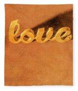 Decorating Love Fleece Blanket