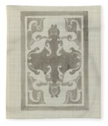 Decorative Design, Carel Adolph Lion Cachet, 1874 - 1945 A Fleece Blanket