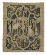 Decorative Design, Carel Adolph Lion Cachet, 1874 - 1945 Vq Fleece Blanket