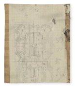 Decorative Design, Carel Adolph Lion Cachet, 1874 - 1945 W Fleece Blanket