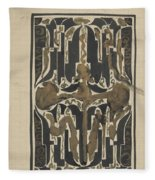 Decorative Design, Carel Adolph Lion Cachet, 1874 - 1945 Y Fleece Blanket
