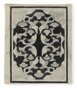 Decorative Design With Fish, Carel Adolph Lion Cachet, 1942 Fleece Blanket