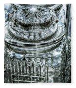 Decorative Glass Jars Fleece Blanket