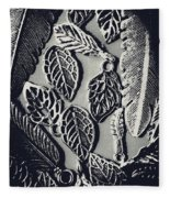 Decorative Nature Design  Fleece Blanket