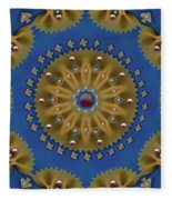 Decorative Pasta Collage Fleece Blanket