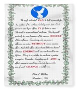 Decree Fleece Blanket