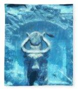 Deep Atlantis Fleece Blanket