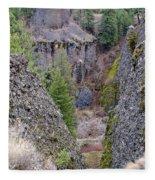 Deep Creek Gorge Fleece Blanket