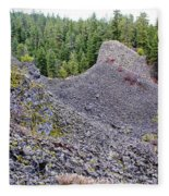 Deep Creek Rocks Fleece Blanket
