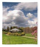 Deep Cut Gardens In Spring  Fleece Blanket