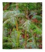 Deep In The Forest, Tamborine Mountain Fleece Blanket