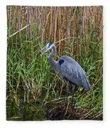 Deep In The Swamps Fleece Blanket