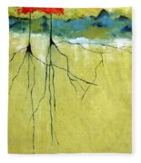 Deep Roots Fleece Blanket