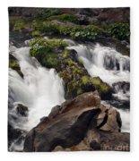 Deer Creek 12 Fleece Blanket