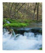 Deer Creek Ia 6 Fleece Blanket