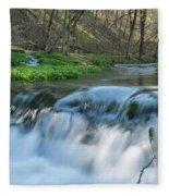 Deer Creek Ia 7 Fleece Blanket