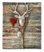 Deer Heart - Hirschherz Fleece Blanket