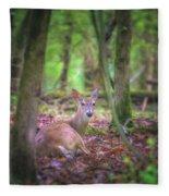 Deer1 Fleece Blanket