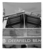 Deerfield Beach Fleece Blanket